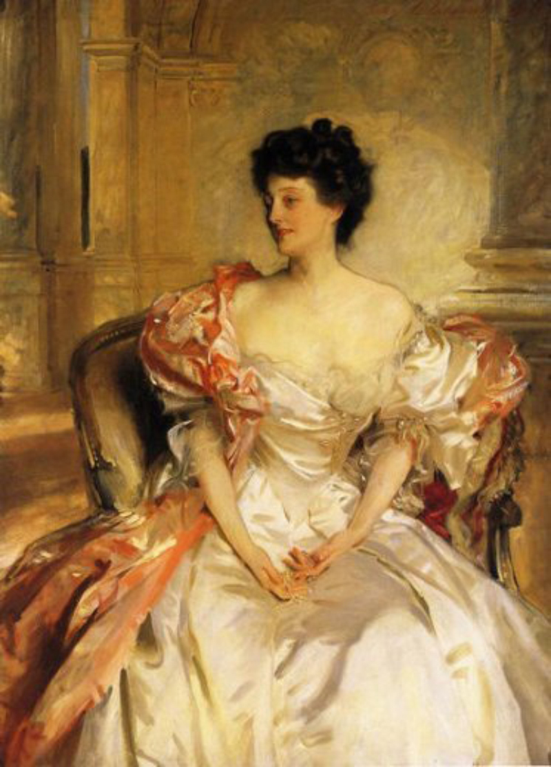 "John Singer Sargent ""Cora Countess of Strafford"" (1899)"