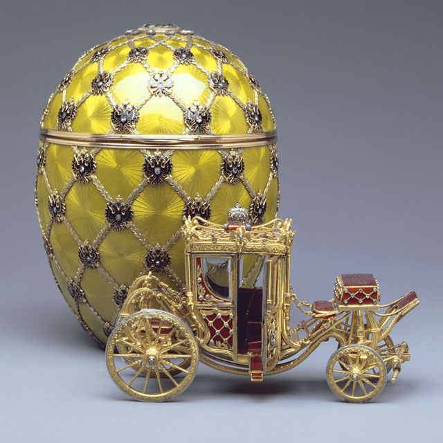 The Coronation Egg. Image: Fabergé
