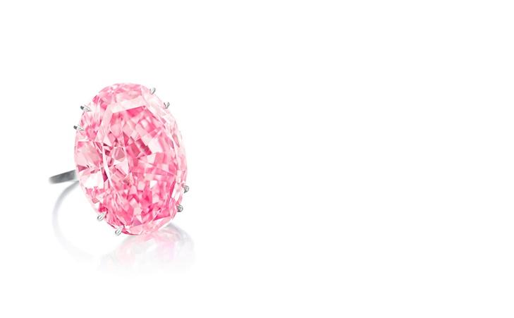 Deiser rosa Diamant ist derzeit das teuerste Schmuckstück bei einer Auktion (Foto: Sotheby's)