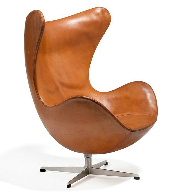 """Arne Jacobsen """"Ägget"""", 1963. Utrop: 77.000-105.000 sek. Bruun Rasmussen."""