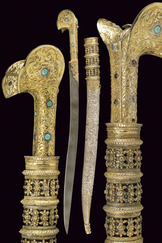 Une exceptionnelle dague Yatagan, Turquie, circa 1800