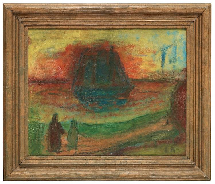 """Carl Kylbergs """"Stilla Morgon"""" från 1943 ropas ut för 700 000 - 800 000 kronor på Bukowskis"""