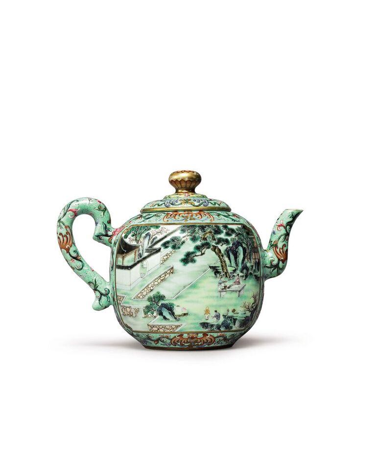 Qianlong Dynasty teapot