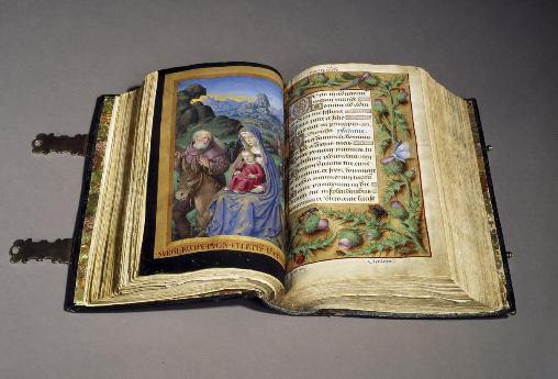 Grandes Heures d'Anne de Bretagne © BNF