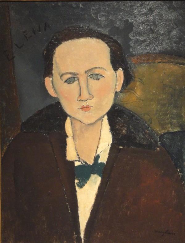 Amedeo Modigliani Elena Povolozky, 1917