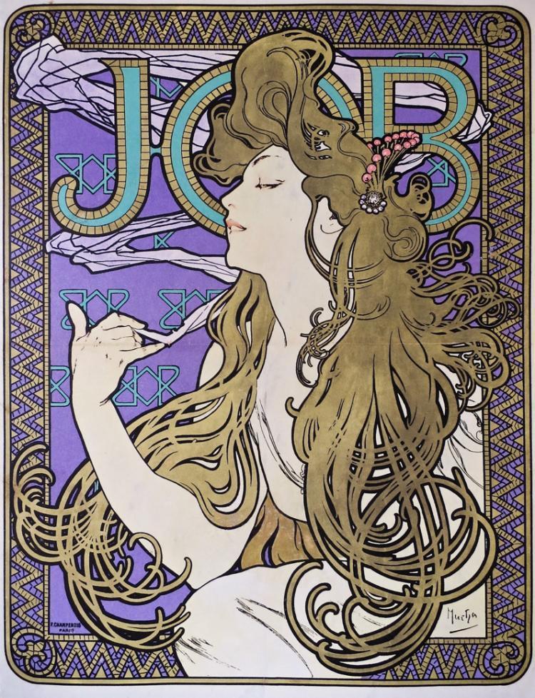 Alphonse Mucha Job Mucha Original Poster Barcelona
