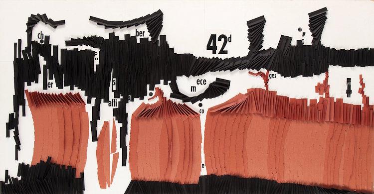"""Per Olof Ultvedts """"Collage"""" ropas ut för 60-80 000 kronor. Senaste """"adressen"""" är: privat samling"""