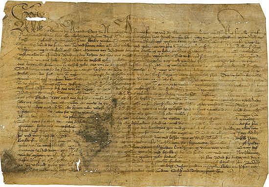 Ewiggeldbrief der Stadt Nürnberg Nürnberg, 24.04.1466 Schätzpreis: 700-1.200 EUR