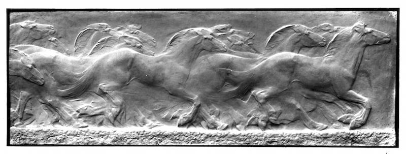 I cavalli della palude, Duilio Cambellotti, 1910.