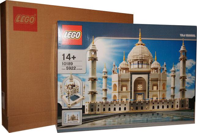 LEGO. 10189 Taj Mahal venduto sulla piattaforma Catawiki per 1.800 €