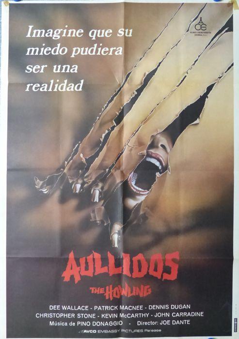 Aullidos (Dee Wallace, Patrick MacNee). Película de Terror (1981)