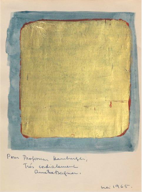 Anna-Eva Bergman. Komposisjon, 1965. Blomqvist.