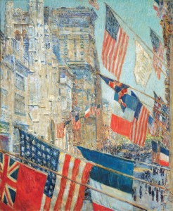 Childe Hassam's Allie's Day, May 1917