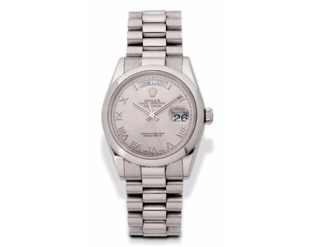 Rolex, Day Date vers 1950, Ref 118206
