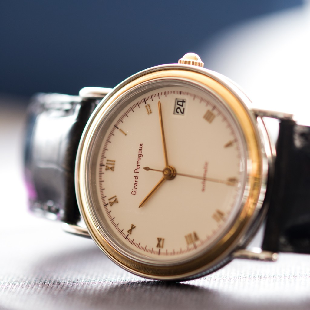 On display: Girard-Perregaux, Cal 215-763, LOT181(photo: kaplans.se)