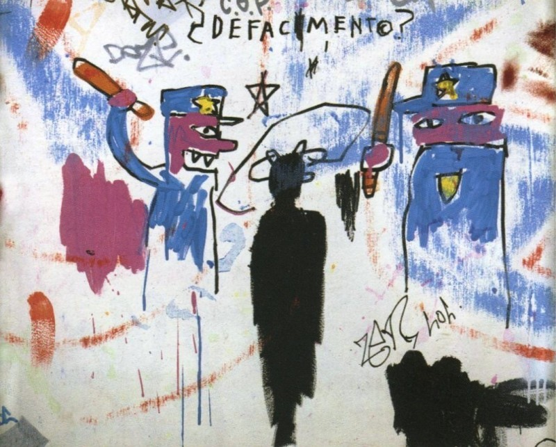 """Defacement (The Death of Michael Stewart)"", 1983. Photo via sugarcanemag.com."