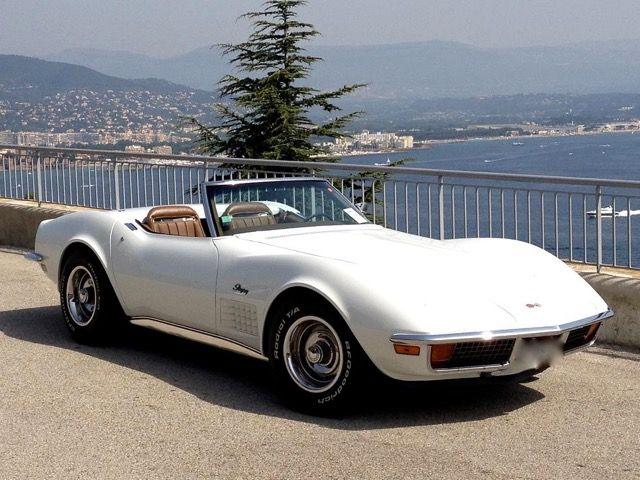 CORVETTE - Stingray Cabriolet - 1972 Schätzpreis: 38.000-50.000 EUR