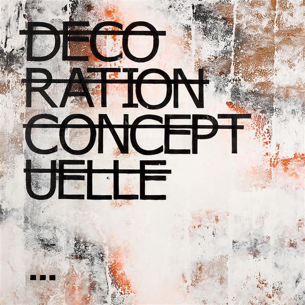 RERO (né en 1983)  Sans titre (Décoration conceptuelle), 2012