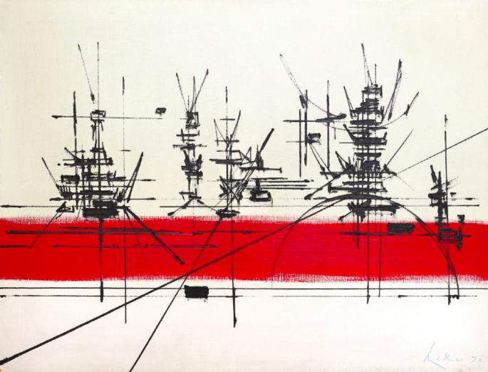Georges Mathieu, 'Luischaux', 1970. Photo: Leclere