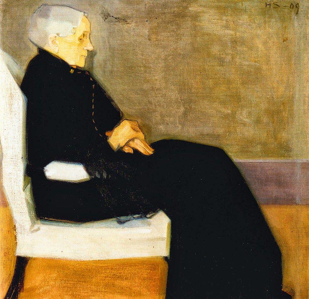 Min Mor från 1909. Bild: Pinterest