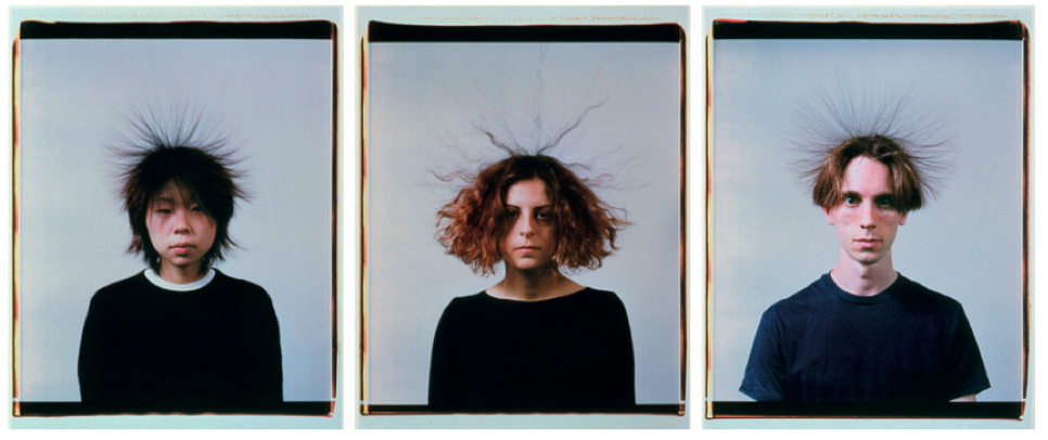 Static Portraits 2000 Static Portraits (Momo, Devrim, Karl), 2000 Set of 3 Polaroids 72 x 56 cm each  © Courtesy of the artist © Courtesy Alexander and Bonin, New York [photo Bill Orcutt]