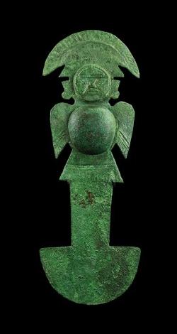Couteau de cérémonie, Pérou, 800-1000 après JC