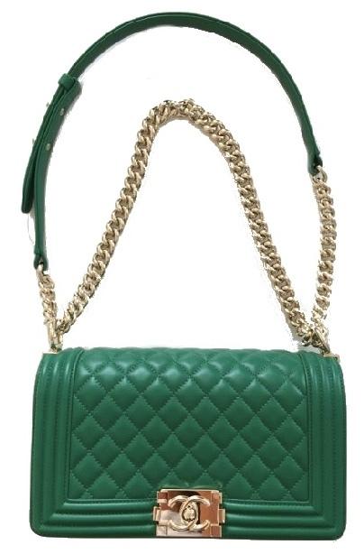 Chanel quilted medium Boy Bag - 2016