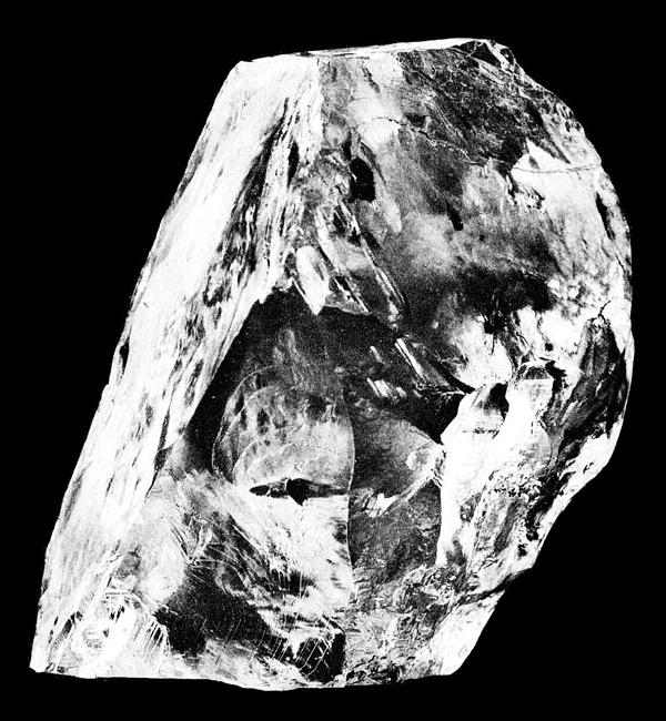 The Cullinan Diamond. Bild Wiki Commons