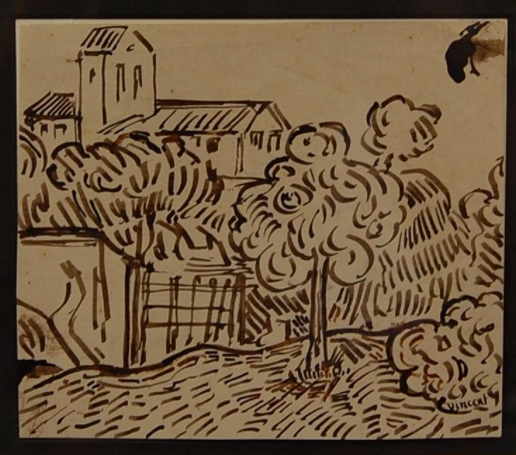 Van Gogh drawing attribution