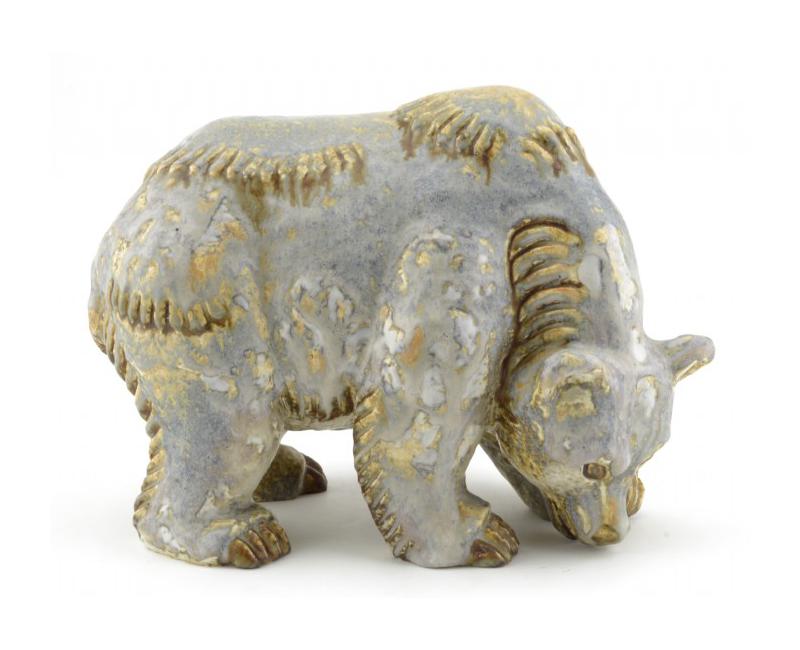 Figur, Gunnar Nylund, Rörstrand. Utropspris: 2000 kr. Crafoord auktioner.
