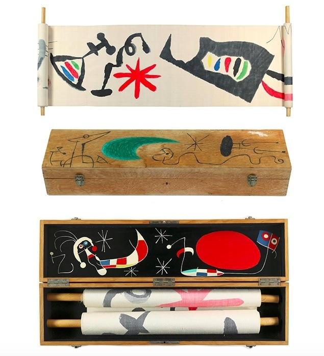 Joan Miró, 'Makemono', c. 1956. Photo: Kiefer