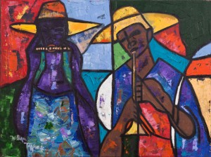 Works by noted New Orleans artists
