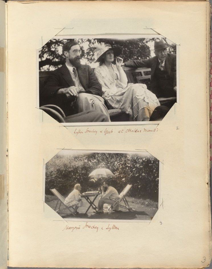 Virginia Woolf's personal scrapbooks. Image: Harvard Library