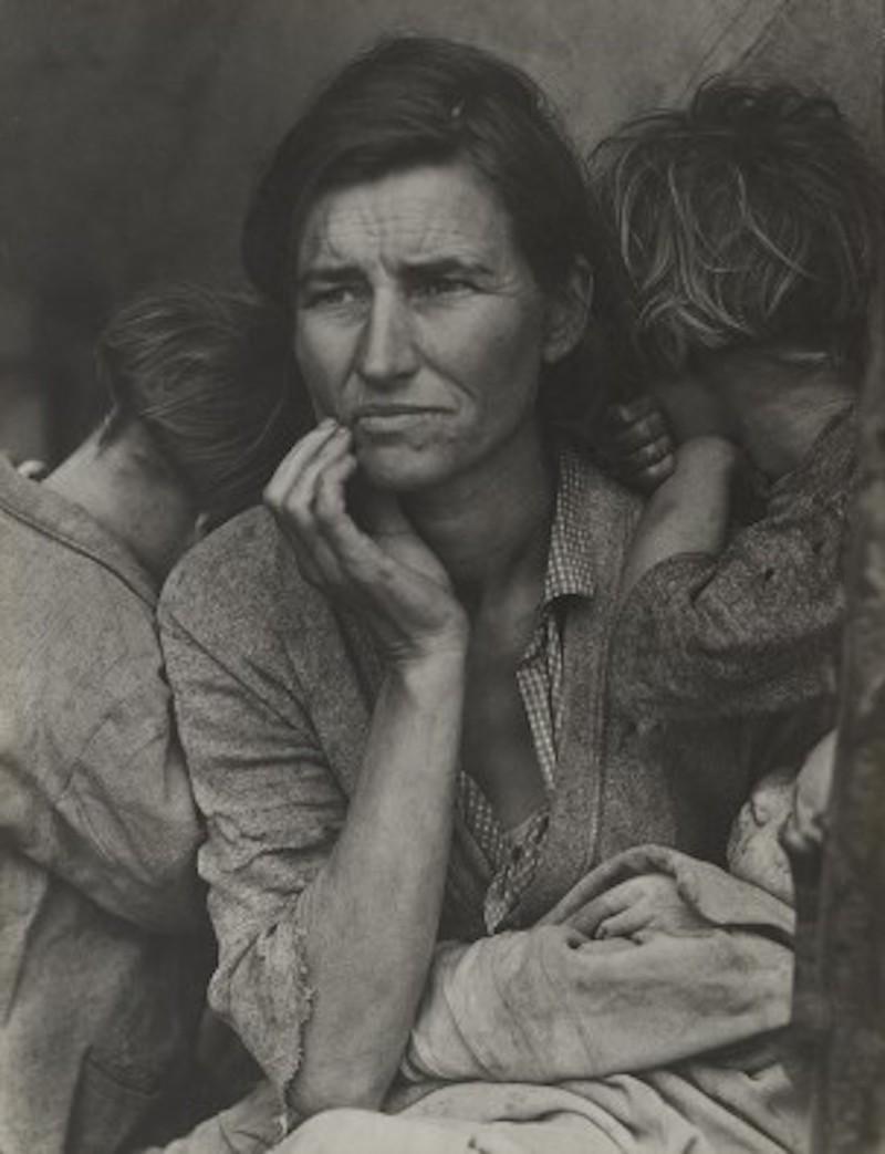 Migrant Mother av Dorothea Lange ingår i The Sir Elton John Collection. Foto: moma.org