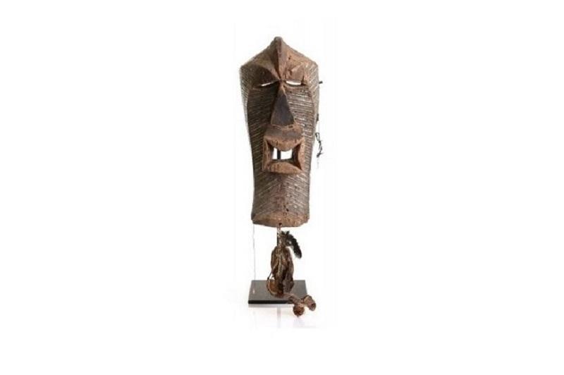 Masque cérémonial du peuble Songye, République démocratique du Congo