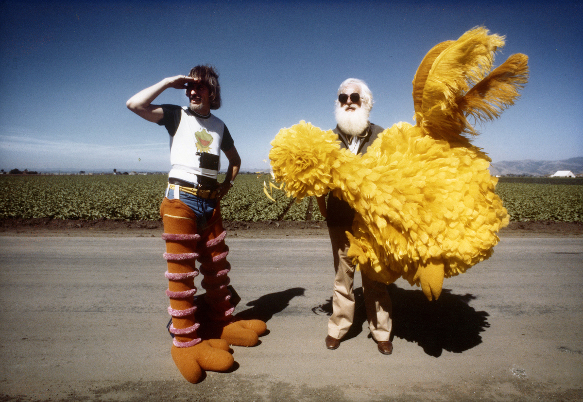 Jim Henson and Caroll Spinney