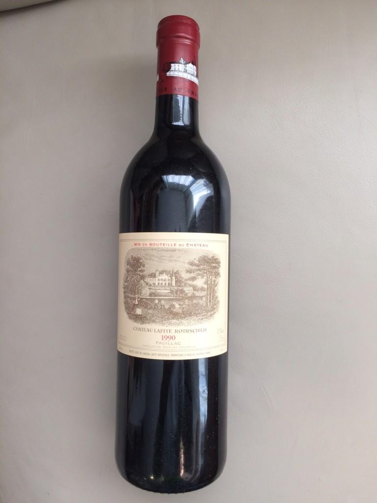 Lafite Rothschild, 1990 Premier Grand Cru Pauillac Mindestpreis: 790 EUR