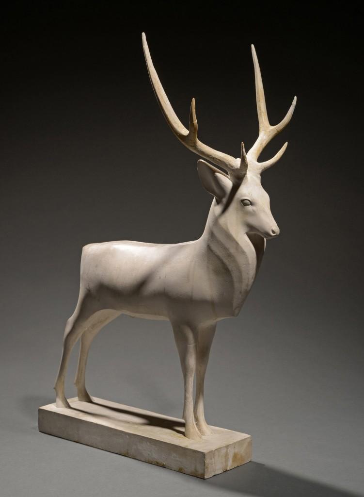 Grand cerf, 1930