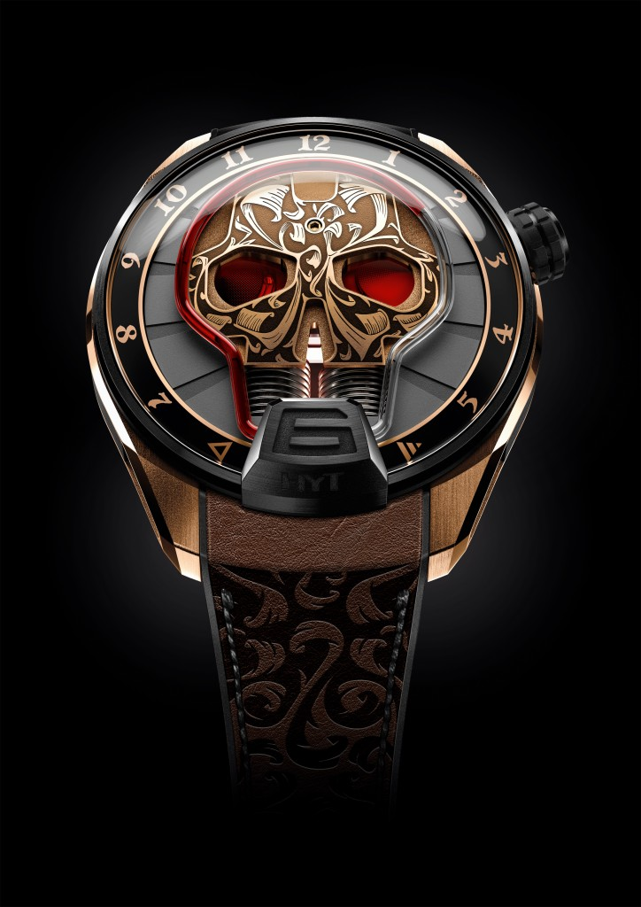 HYT Skull Maori(photo:hytwatches.com)