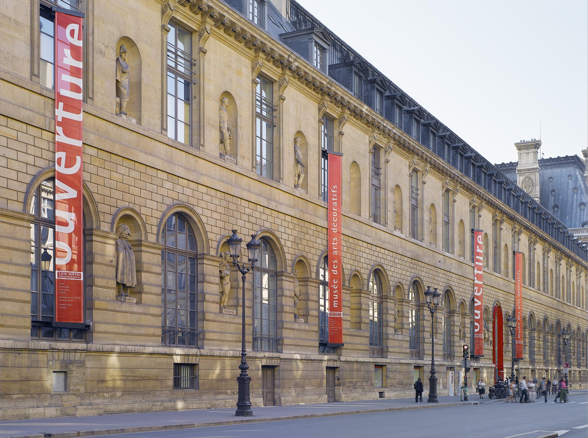 Le Musée qui était alors Les Arts Décoratifs, rue de Rivoli à Paris, sera désormais MAD