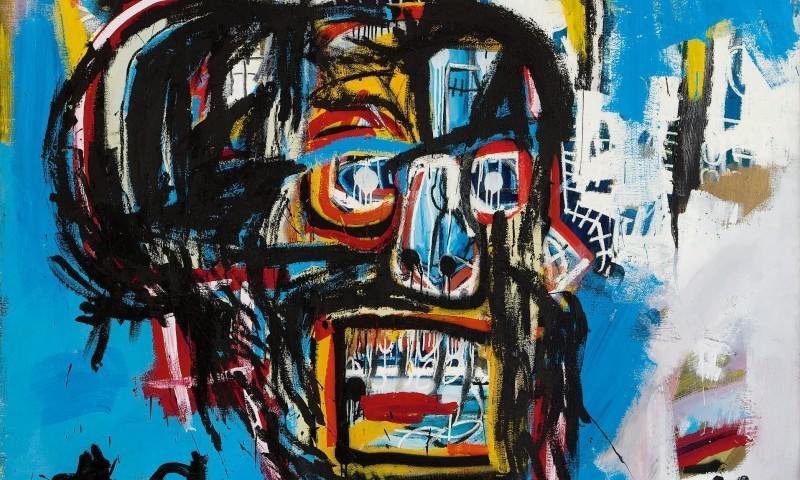 Détail de « Untitled », vendu pour 110 millions de dollars chez Sotheby's, image ©Sotheby's