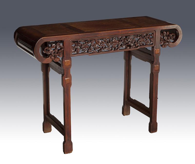 Bord, Kina, 1800-tal. Rosenträ.