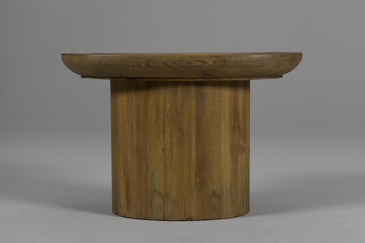 """Soffbordet """"Utö"""" från 1930-talet tillverkat i furu. Designer: Axel Einar Hjorth"""