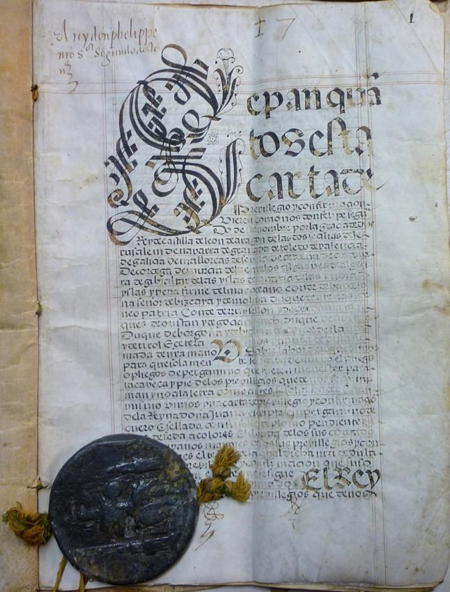 Lote 3082: Carta de privilegio. Madrid (1562). Precio de salida: 800 €