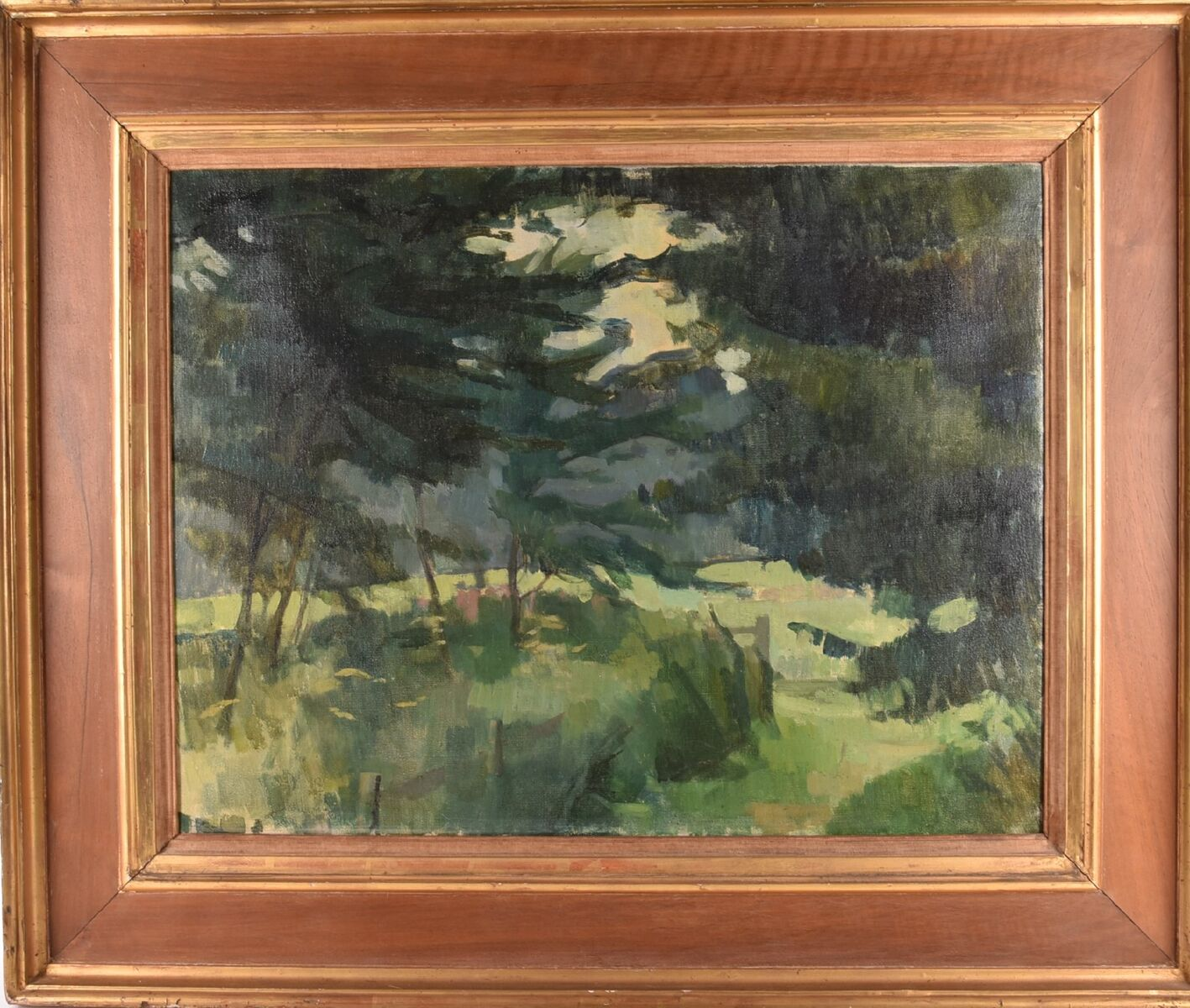 Lot 104: Sir Lawrence Burnett Gowing (1918-1991) British, Path by the Plantation