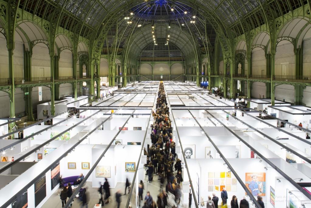 Les allées du Grand Palais n'ont pas désemplies pour Art Paris Art Fair 2016
