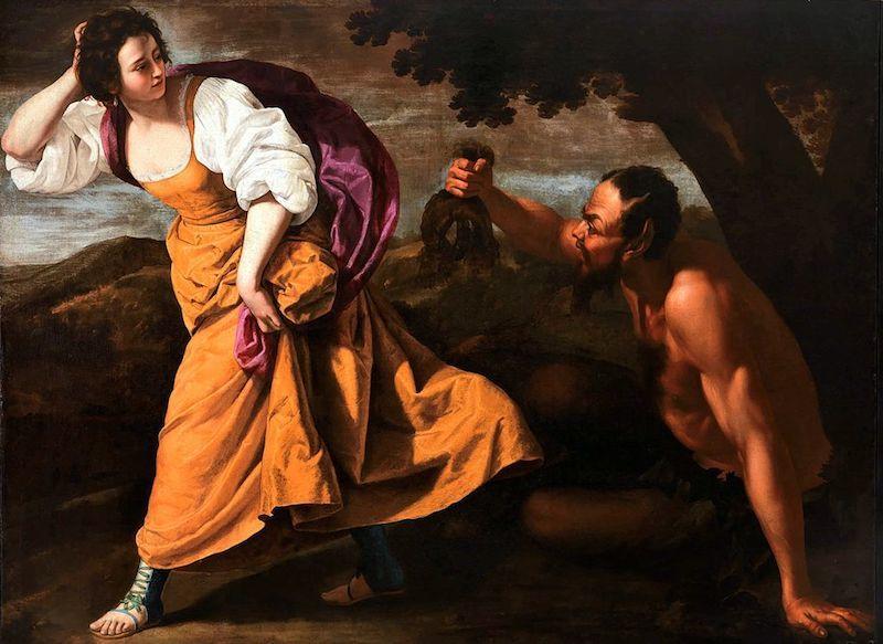 « Corisca et le Satyre », réalisé entre 1630 et 1635. Image via Wikimedia Commons.