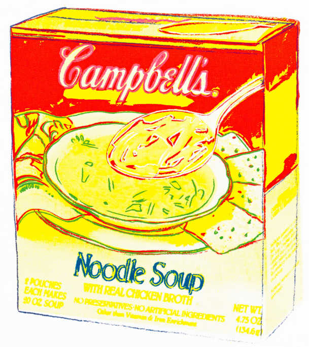 Andy Warhol Campbell'S Soup Box: Noodle Soup Sotheby's