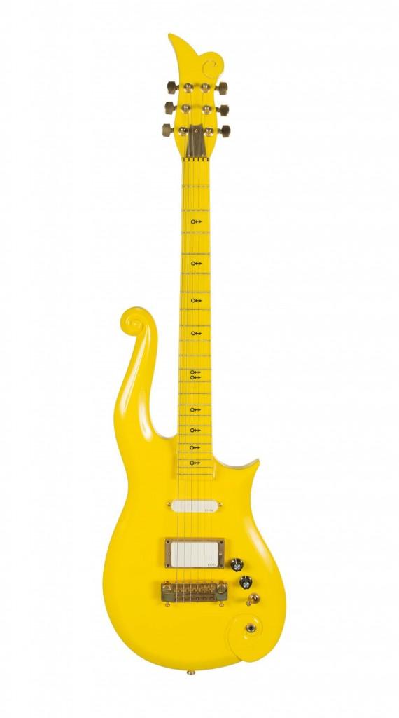 Prince yellow Cloud guitar