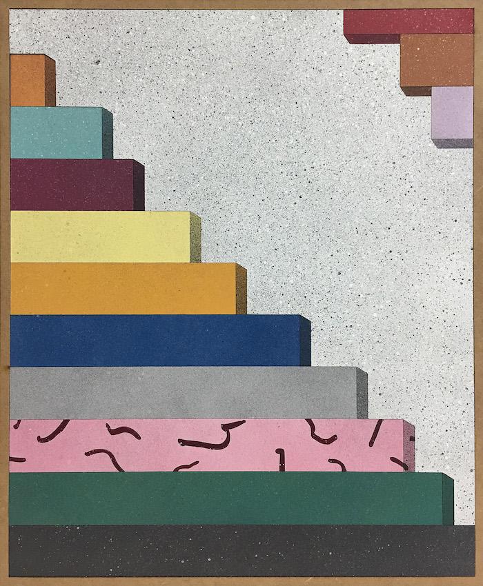 """Rhys Corens fascinerande bilder är inspirerade av Josef Albers konst. Verket """"A Giddyupagogo"""""""